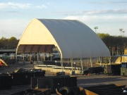 Tipping Floor Cover by ClearSpan Fabric Structures