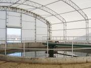Waste Water Treatment Facility by ClearSpan Fabric Structures