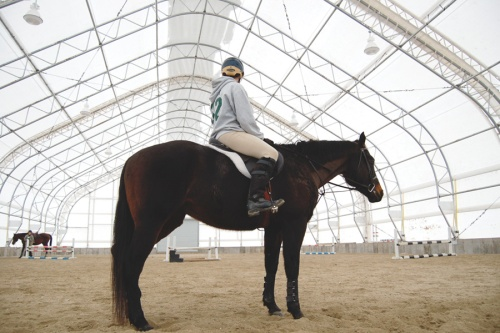 Fabric Indoor Riding Arena
