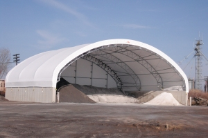 ClearSpan salt storage