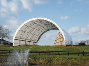 Hay Storage Options from ClearSpan