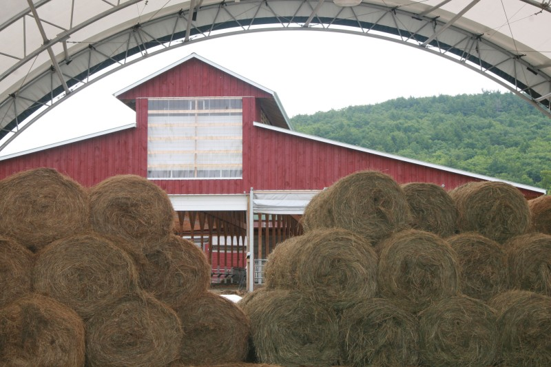 Store your hay separate