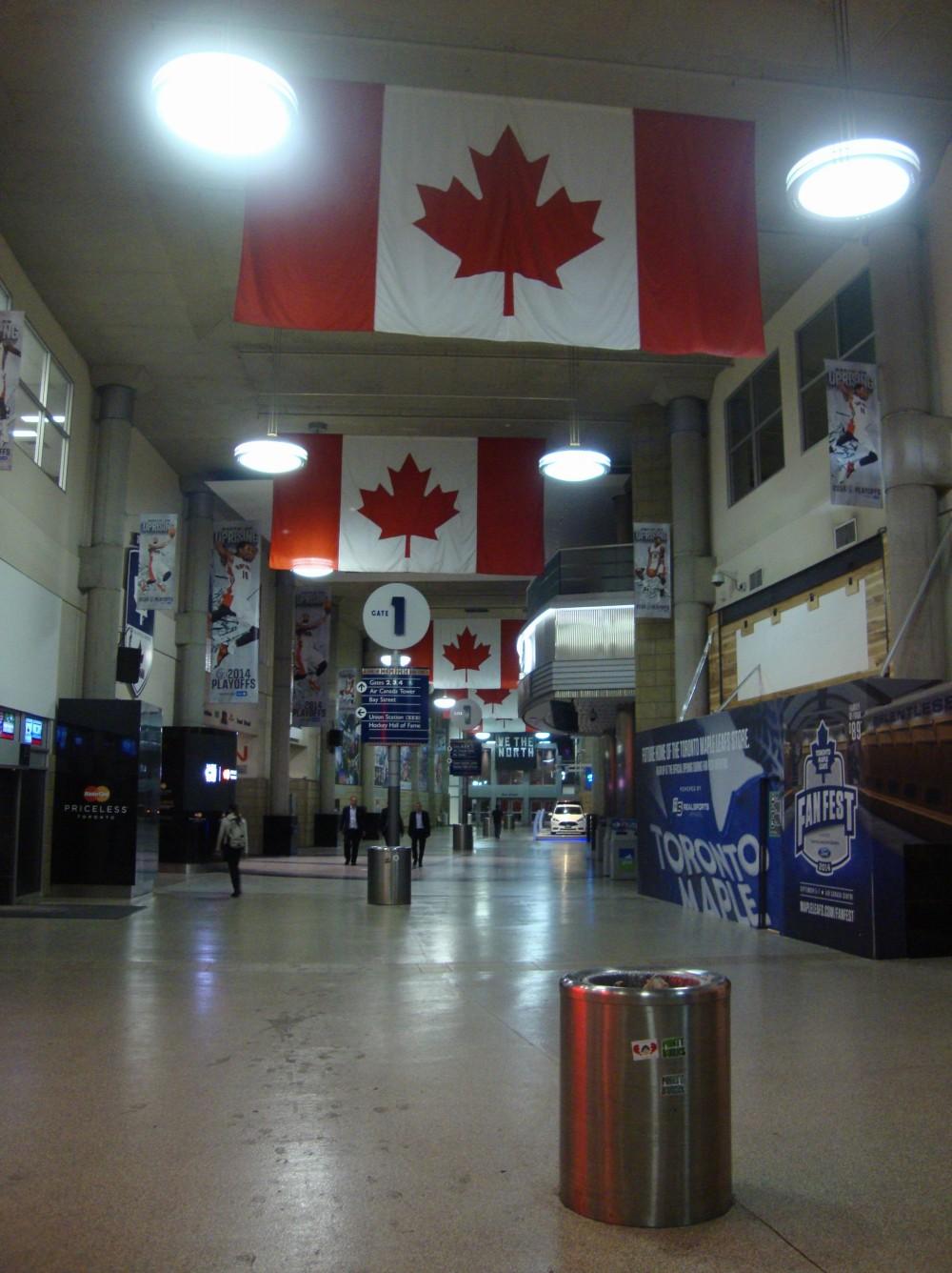 Inside the Air Canada Center