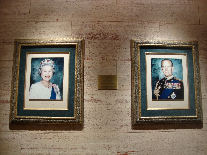 Queen Elizabeth II and Prince Phillip at the Fairmont Royal York