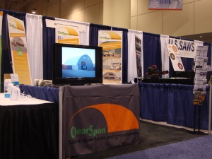 ClearSpan Booth at ASWA