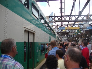 GO Train at Union Station