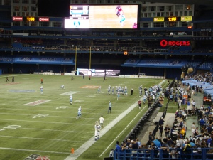 Canadian Football League at Rogers Centre