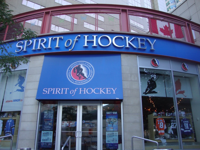 Hockey Hall of Fame - Toronto, Canada