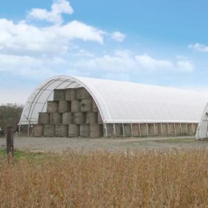Smaller hay storage buildings