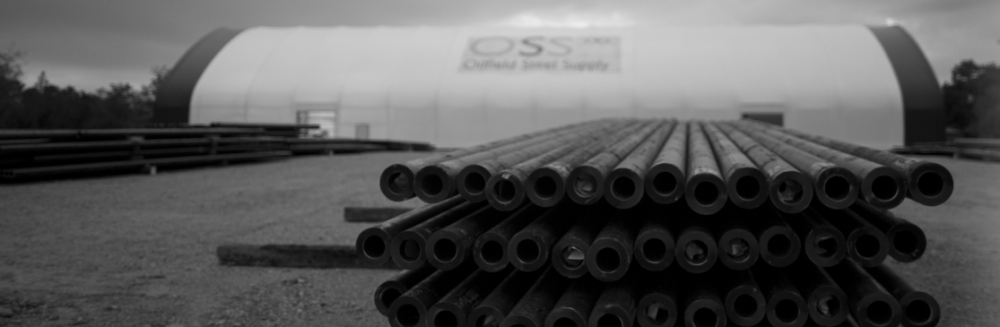 Pipes manufactured at Oilfield Steel Supply