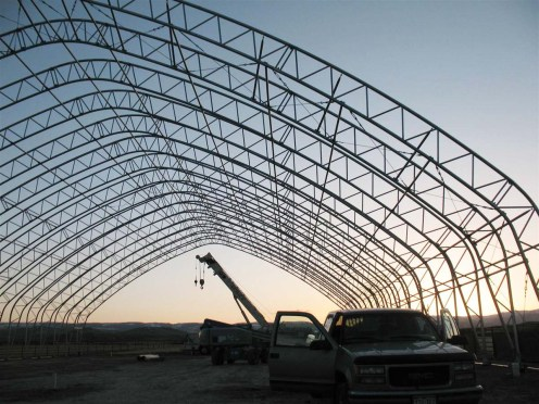 Fabric Building Frame