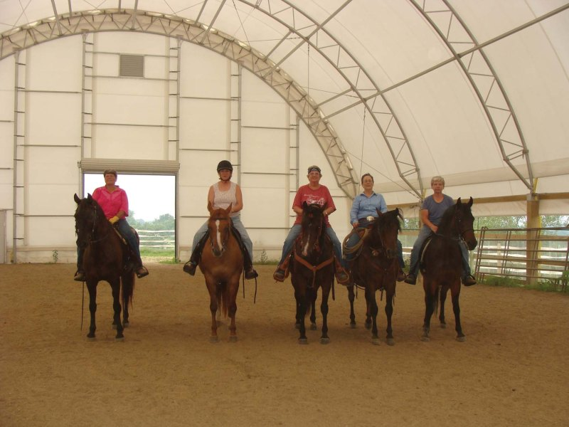 65 x 120 Indoor Riding Arena
