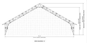 A-Frame Fabric Structure
