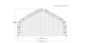 Gable Style Fabric Structure