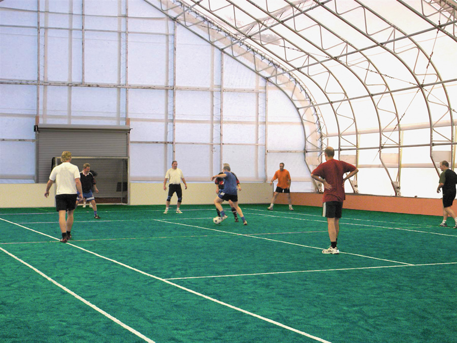 Indoor Soccer Field by ClearSpan