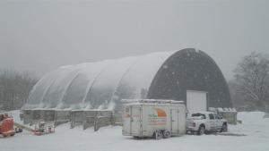 Snow construction