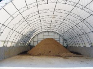 Dublin, NH sand storage