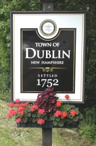 Welcome to Dublin, NH