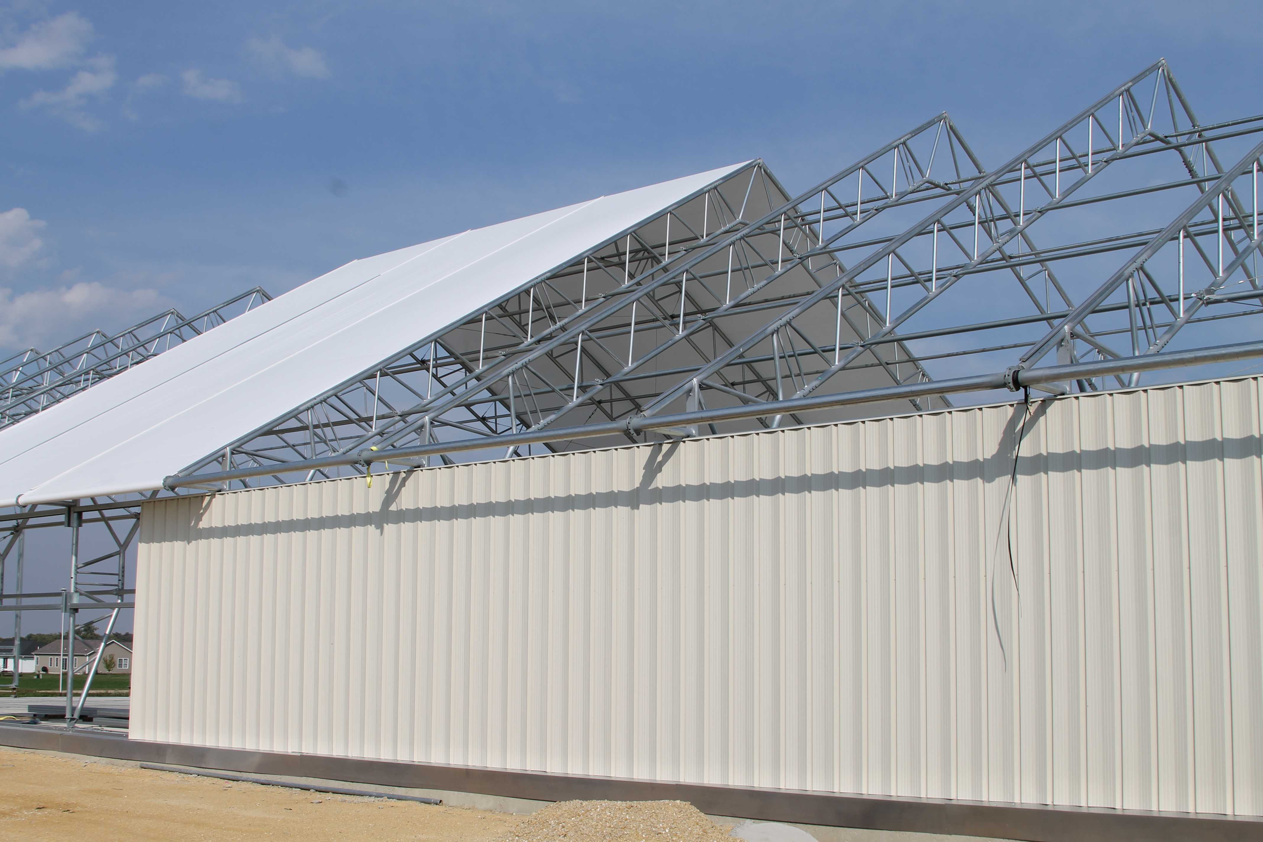 Photo blog clearspan s newest building design and farming for Clear span garages