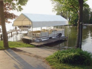 ClearSpan Boat House