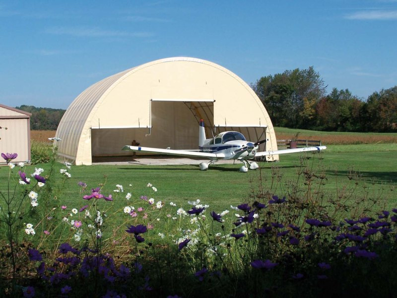 ClearSpan Aircraft Shelter