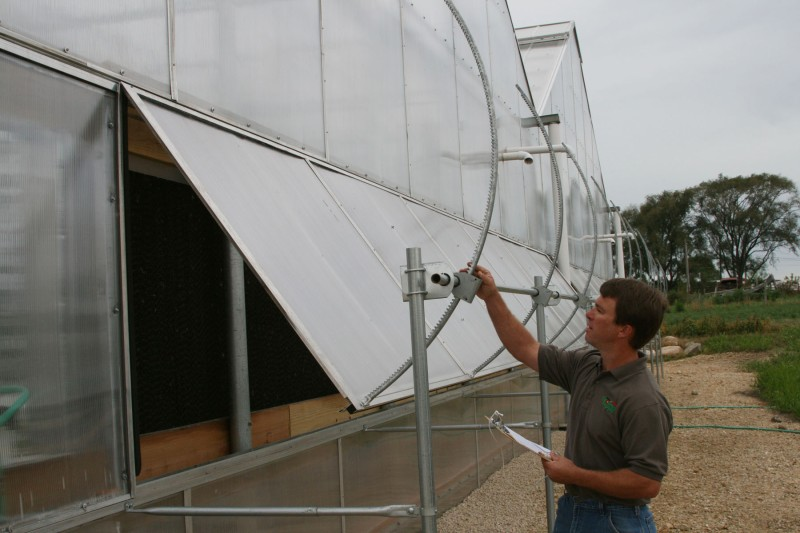 Greenhouse Power Vent System