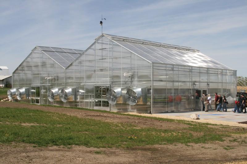 ClearSpan Engineered Greenhouse