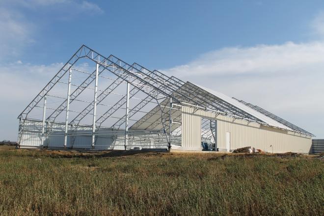 ClearSpan Hybrid Building