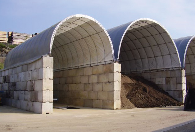 The Clearspan Advantage To Salt Storage Clearspan Fabric