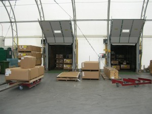 Loading Area for Shipment