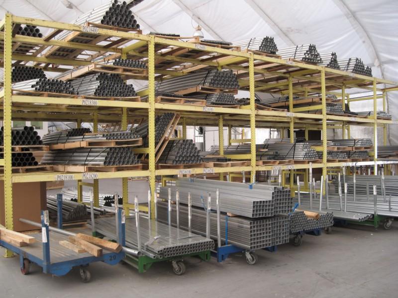 Steel Pipe Storage