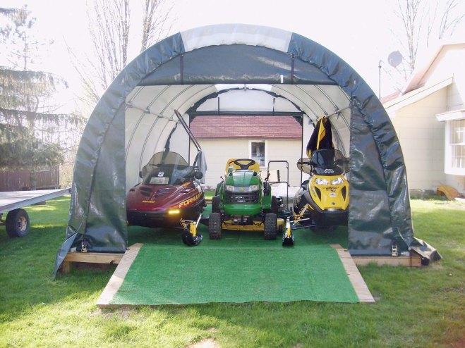ClearSpan Mini Garage