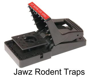 Jawz Rodent Traps